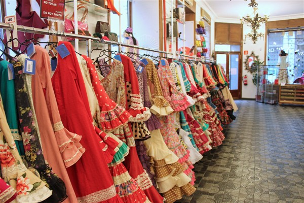 Flamenco shops in Madrid - dance dresses