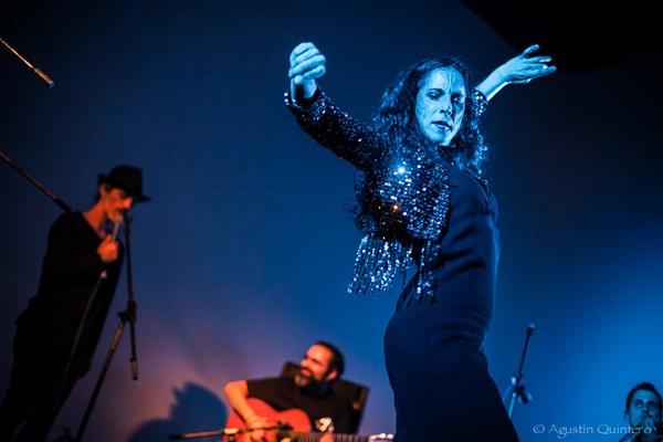 Flamenco dancer Sara Nieto performing