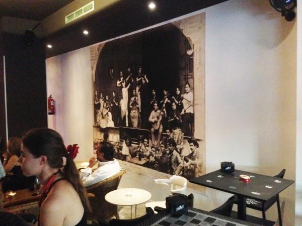 Are flamenco shows just for tourists - Interior of Café Ziryab