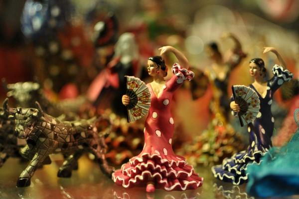 Flamenco souvenir - are flamenco shows just for tourists